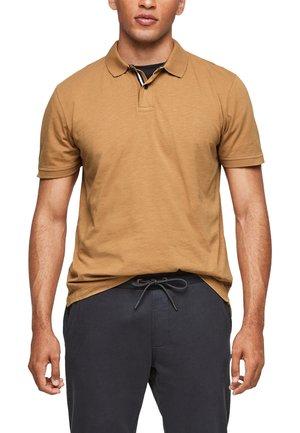 Polo shirt - caramel