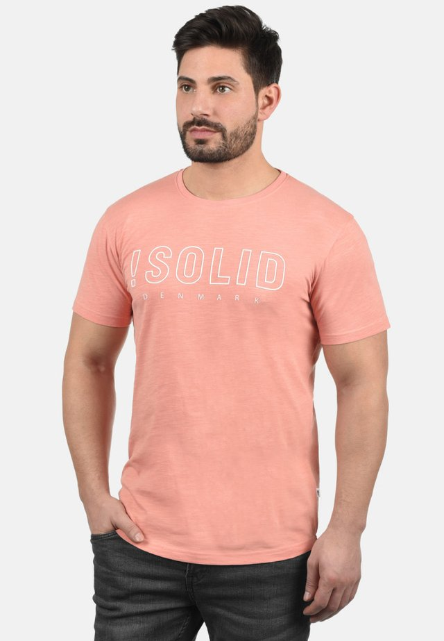 SOLIDO - Print T-shirt - rose dawn