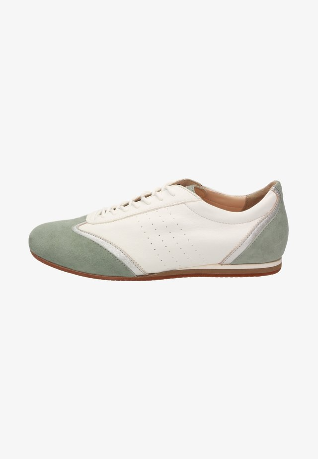 SIRALEA - Sneakers laag - green/white