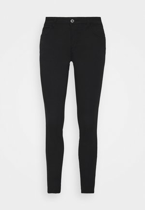 Trousers - jet black