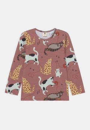 PLAYFUL CATS UNISEX - Camiseta de manga larga - pink
