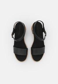 Timberland - LAGUNA SHORE MID HEEL - Sandals - black - 5