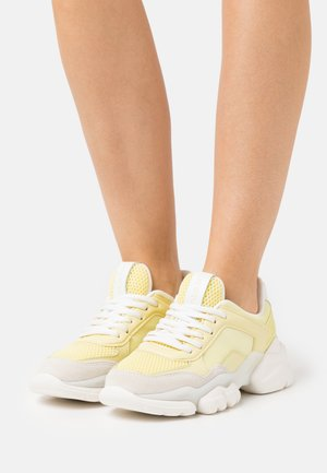 JULIA - Baskets basses - yellow