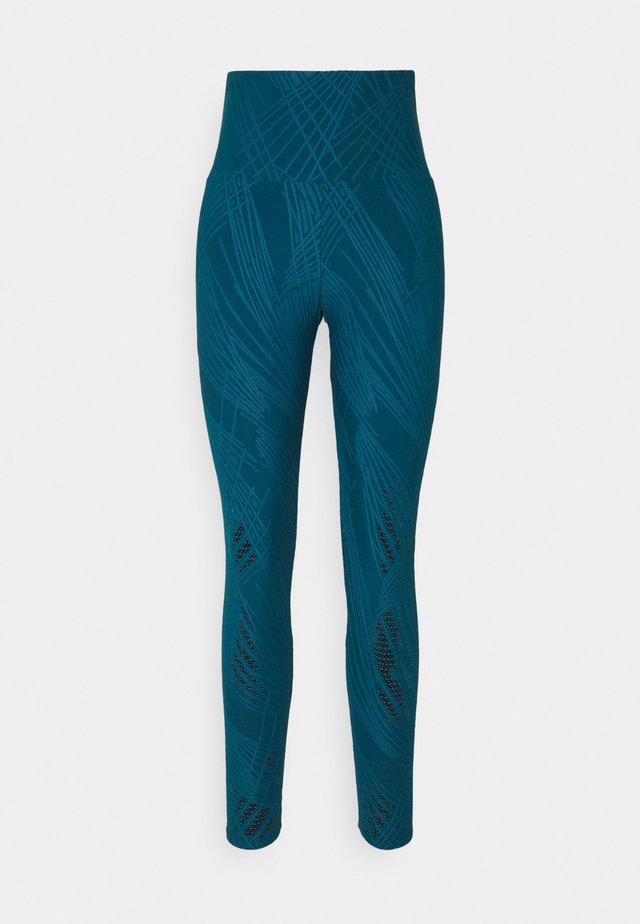 SELENITE MIDI - Leggings - teal