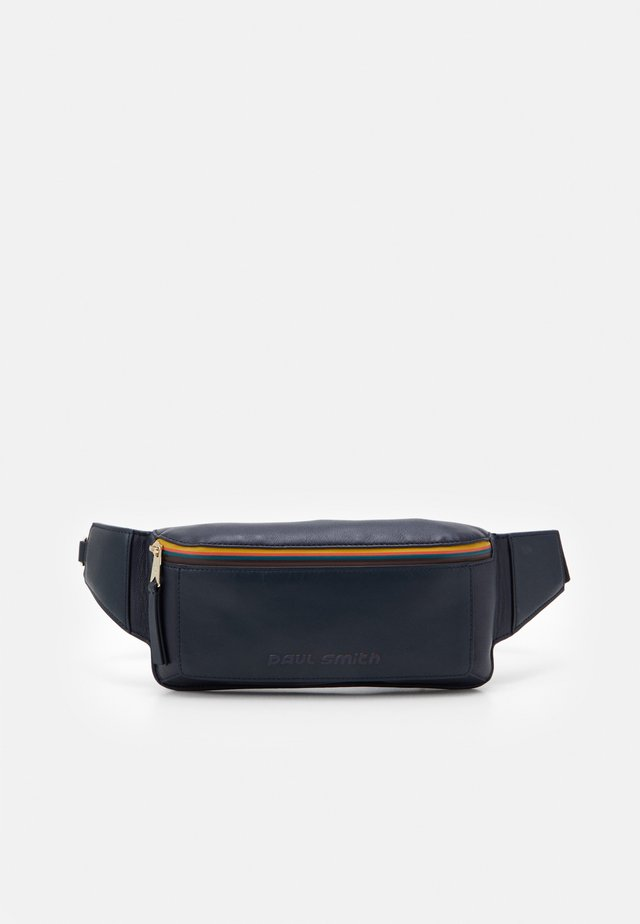 MENS BAG WAIST STRIPE UNISEX - Sac banane - navy