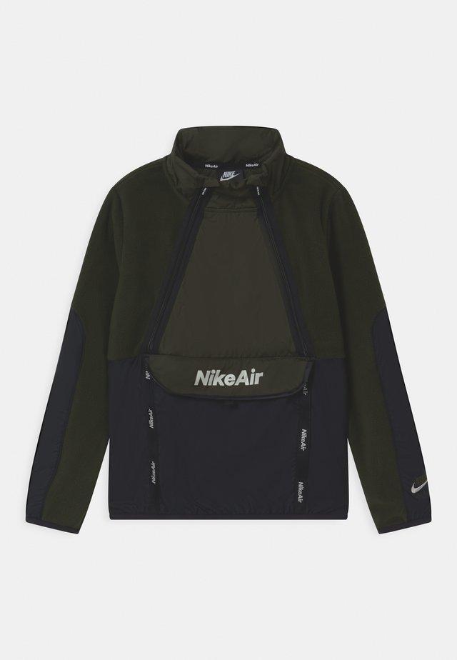 REFLECTIVE AIR - Fleece jumper - sequoia/black