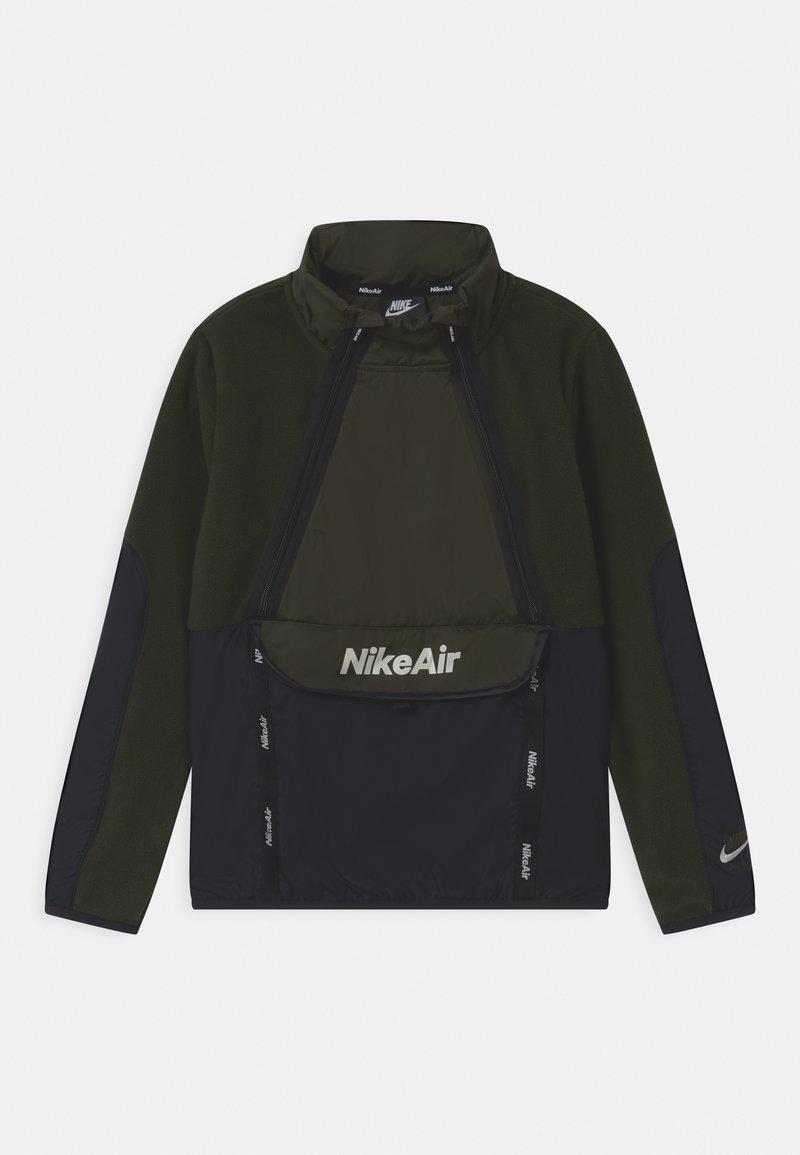 Nike Sportswear - REFLECTIVE AIR - Fleecová mikina - sequoia/black