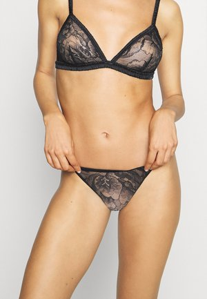 BLOOM FLORAL BRAZILIAN - Underbukse - black