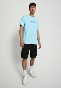Napapijri - BEATNIK - T-shirt med print - green plume - 1