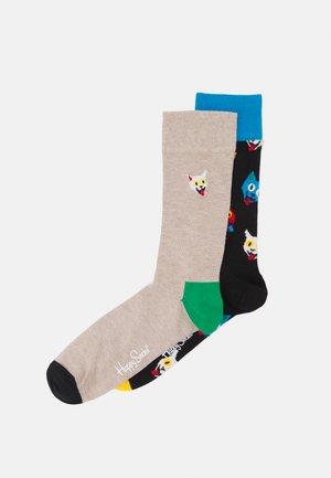 CAT SOCK UNISEX 2 PACK - Socks - multi coloured