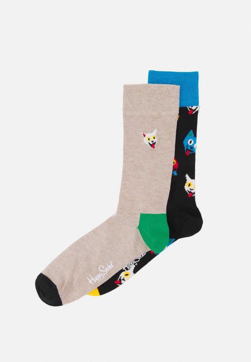 Happy Socks - CAT SOCK UNISEX 2 PACK - Socks - multi coloured