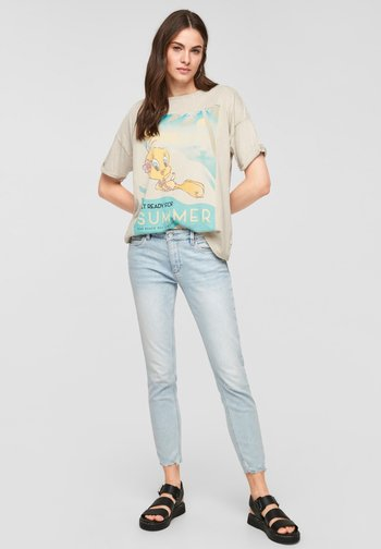 LOONEY TUNES - Print T-shirt - beige