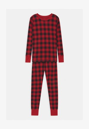 BOYS XMAS BUFF  - Pyžamová sada - modern red