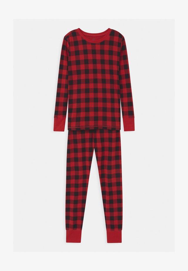 BOYS XMAS BUFF  - Pyjama set - modern red