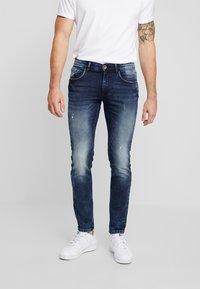 Redefined Rebel - STOCKHOLM TERRY - Slim fit jeans - dark sea - 0