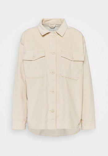 SHIRT JACKET - Summer jacket - blazed beige