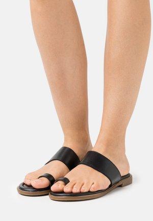 LELANA - T-bar sandals - black