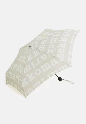 MINI MANUAL LOGO UMBRELLA - Umbrella - beige/off white