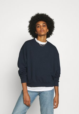 HUGE CROPPED - Felpa - navy