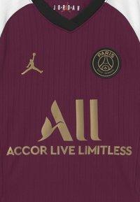 Nike Performance - PARIS ST GERMAIN UNISEX - Club wear - bordeaux/truly gold - 2