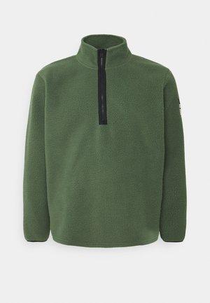 CRUZ - Fleece jumper - thyme