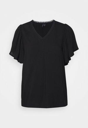 VMNADS TRAPEZ SLEEVE - T-shirts med print - black