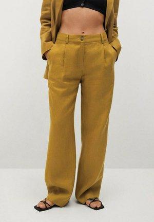 Chino kalhoty - kaki