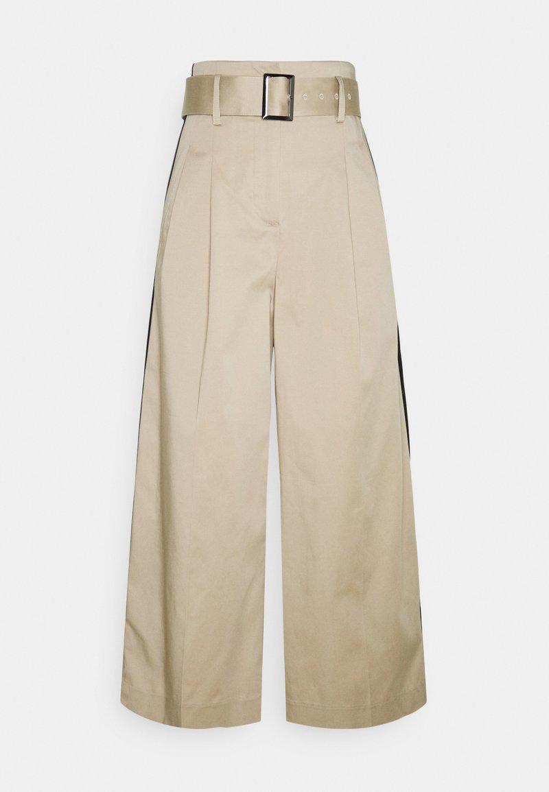 KARL LAGERFELD - PAPERBAG PANTS - Pantalon classique - hummus