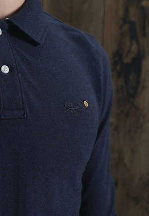 Polo shirt - midnight navy grit