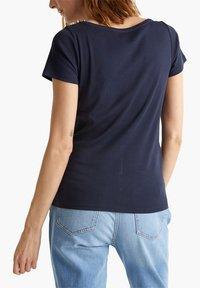Esprit - NOOS CORE OCS  - Print T-shirt - navy - 4