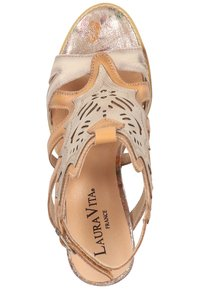 LAURA VITA - Sandalen met hoge hak - beige - 1