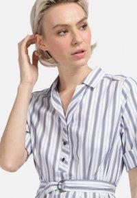 HELMIDGE - Shirt dress - weiss - 2