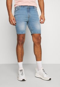 Urban Threads - Shorts - blue denim - 0