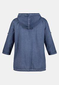 Ulla Popken - DAMEN GROSSE GRÖSSEN - Button-down blouse - blaubeere - 2
