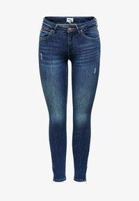 ONLY - Jeans Skinny Fit - dark blue denim - 0
