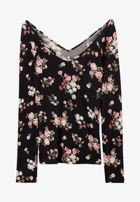 Tezenis - Long sleeved top - nero st.romantic flowers - 3