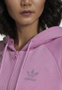 adidas Originals - Zip-up sweatshirt - pink - 5