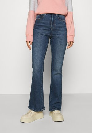 PCEMI ULTRA - Straight leg jeans - medium blue denim