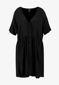Monki - TEODORA DRESS - Robe chemise - black - 3