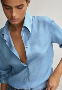 Massimo Dutti - Koszula - light blue - 5