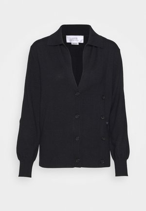 DOUBLE BUTTON  - Cardigan - midnight blue