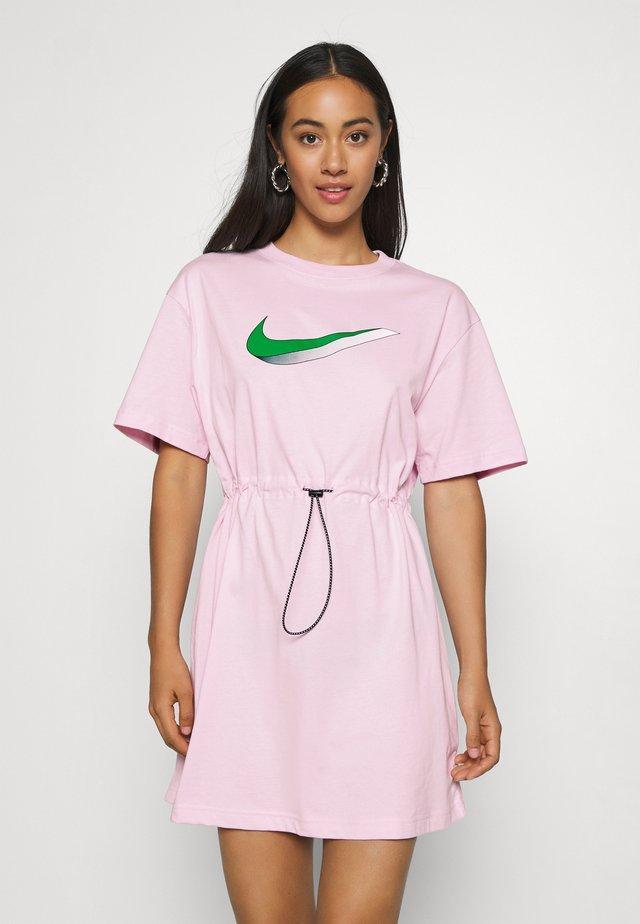 DRESS - Jerseykleid - pink foam
