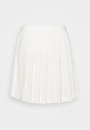 PLEATED MINI SKIRT - Minihame - off white