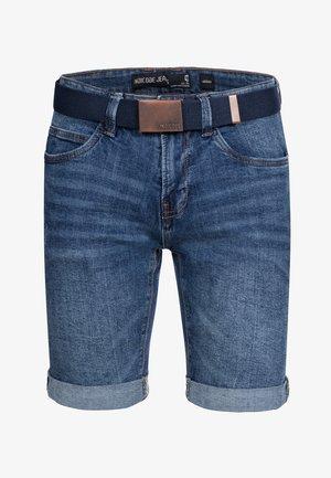CUBA CADEN - Shorts di jeans - medium indigo