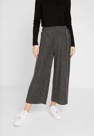 ABEL TROUSERS - Trousers - black sparkle