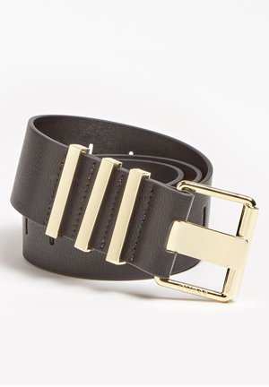 CEINTUUR MET METALLIC APPLICATIES - Ceinture - zwart