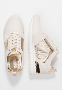 MICHAEL Michael Kors - BILLIE TRAINER - Sneakersy niskie - light cream - 3