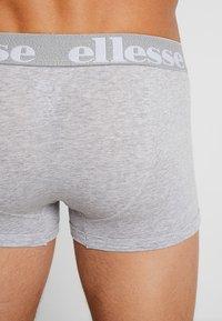 Ellesse - HALI 3 PACK - Boxerky - black/grey/white - 3