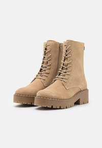 Mexx - GINTO - Platform ankle boots - beige - 2