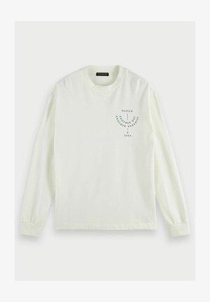 ARTWORK  - Pitkähihainen paita - denim white